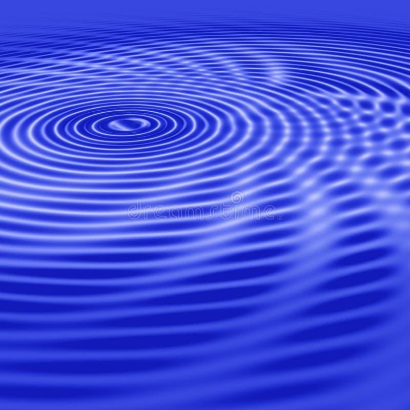 abstrakt vatten stock illustrationer