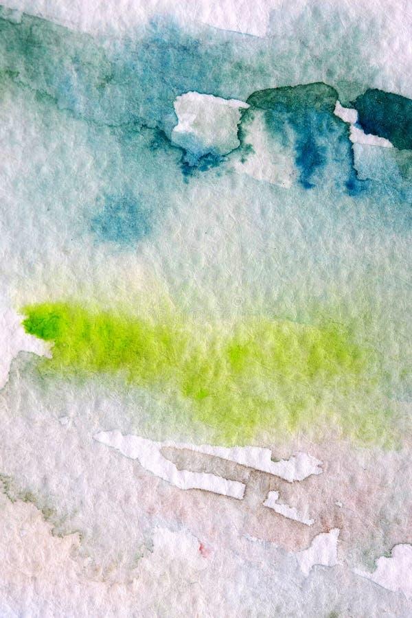 abstrakt vattenfärg arkivbilder