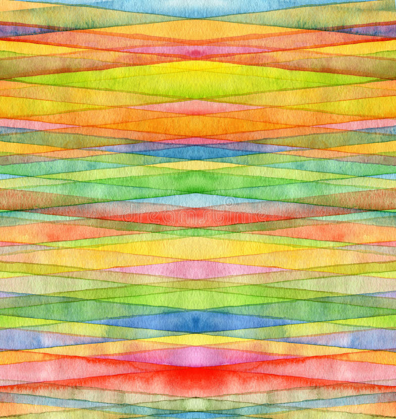 Abstrakt vattenfärg målad bakgrund vektor illustrationer