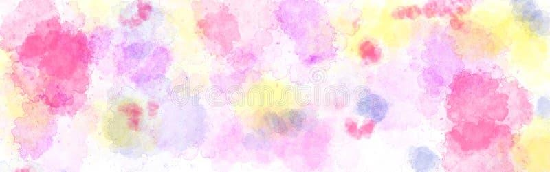 Abstrakt vattenfärgbakgrund stock illustrationer