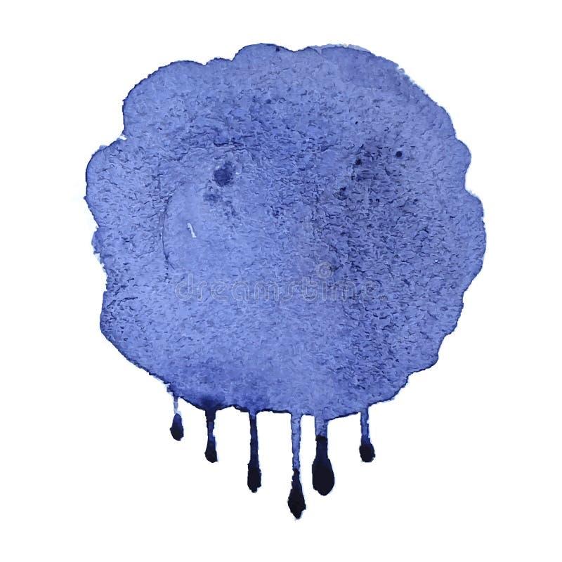 Abstrakt vattenfärgbakgrund för vektor royaltyfri illustrationer
