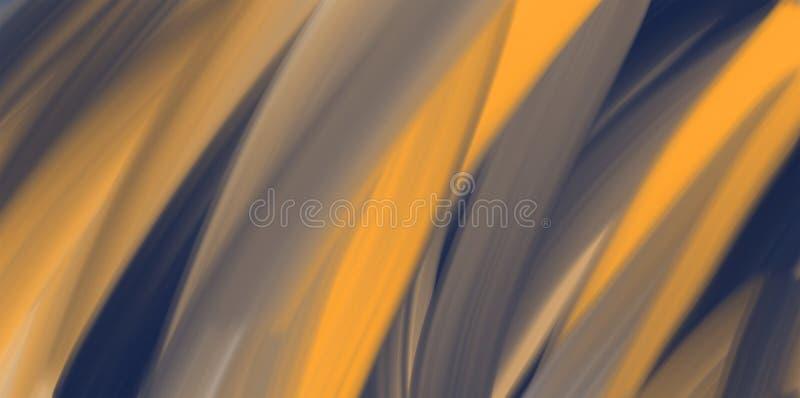 Abstrakt vattenfärgbakgrund, orange textur vektor illustrationer