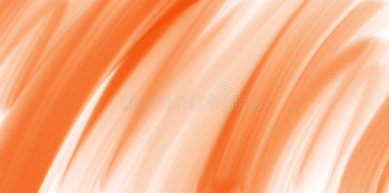 Abstrakt vattenfärgbakgrund, orange textur royaltyfri illustrationer