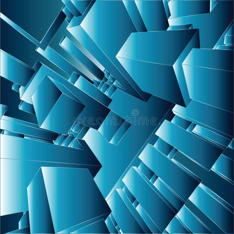 abstrakt vektor för bakgrund 3d royaltyfri illustrationer