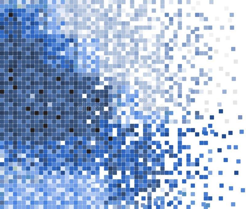 abstrakt vektor för bakgrundsmosaikPIXEL royaltyfri illustrationer