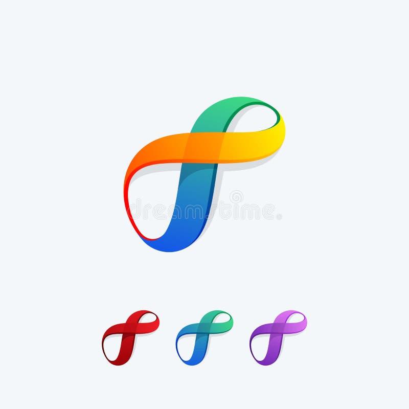 Abstrakt vektor för illustration för oändlighetsfärgbegrepp stock illustrationer
