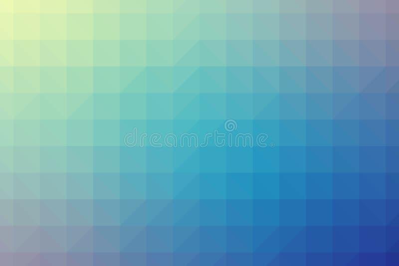 Abstrakt vektor för polygonlutningbakgrund arkivfoton