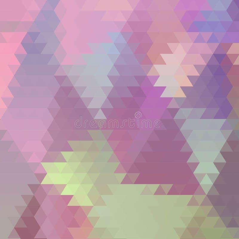 abstrakt vektorbakgrund som best?r av trianglar 10 eps stock illustrationer