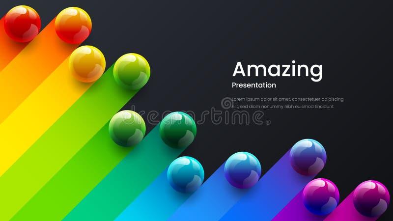 Abstrakt vektorbakgrundsmall för affischen, reklamblad, tidskrift, tidskrift, broschyr, bokomslag, landningsida, banerdesign vektor illustrationer