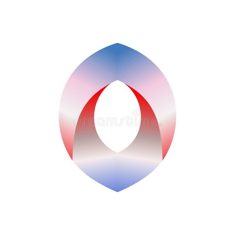 Abstrakt vektorlogodesign för affärsbranscher, folk etc. också vektor för coreldrawillustration stock illustrationer