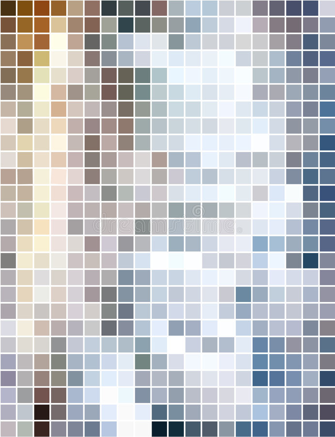 abstrakt vertical för bakgrundsmosaikfyrkant vektor illustrationer