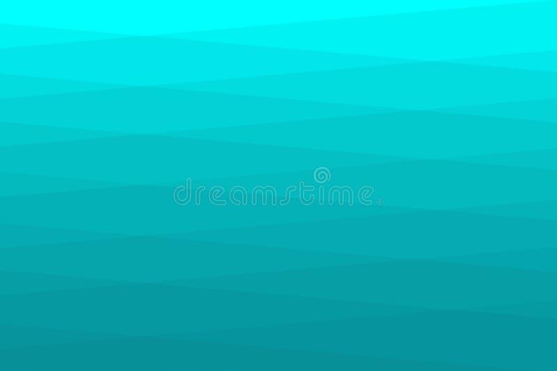 Abstrakt vikt grönt vatten för bakgrundspapper royaltyfri bild