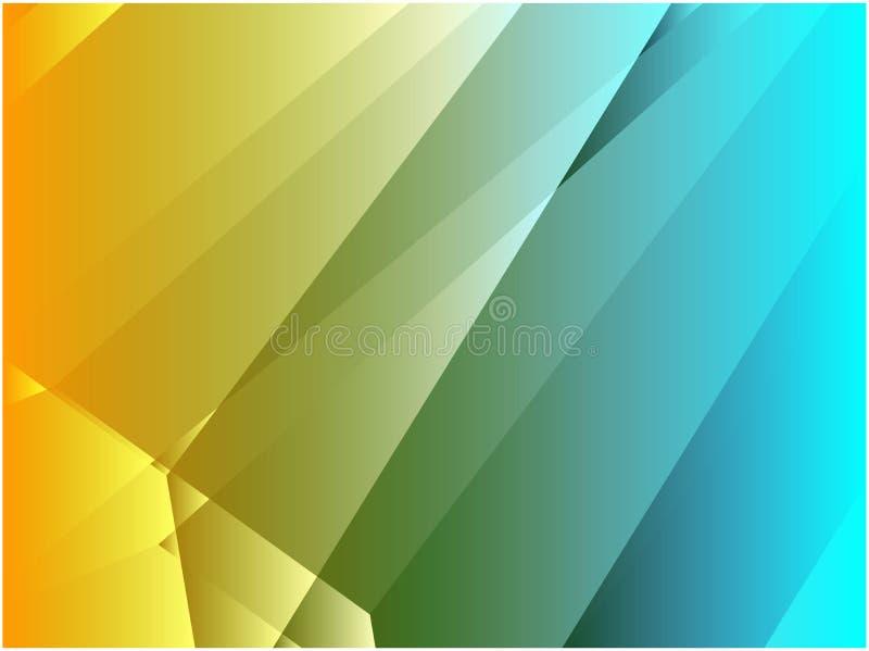 abstrakt vinkelformig kristall vektor illustrationer
