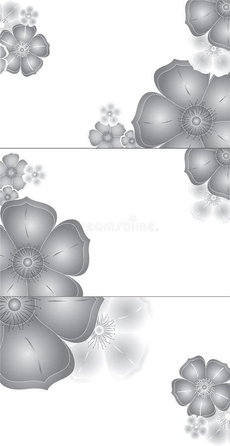 abstrakt visit för affärskort vektor illustrationer