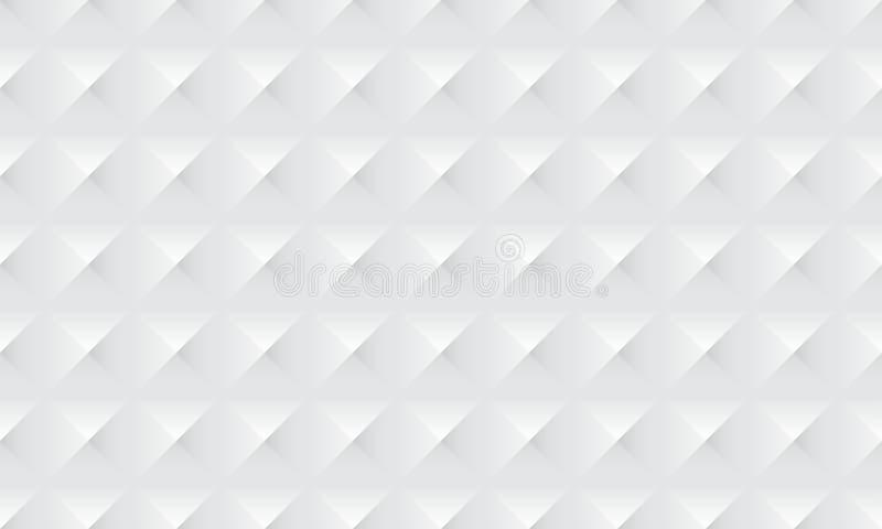 Abstrakt vit bakgrundstextur med diamontfyrkantmodellen vektor illustrationer