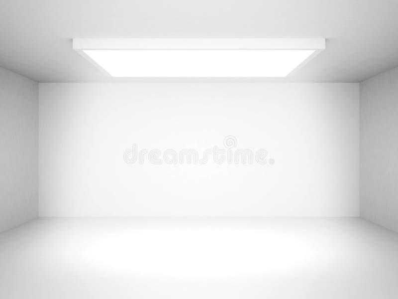 Abstrakt vit futuristisk inre bakgrund vektor illustrationer