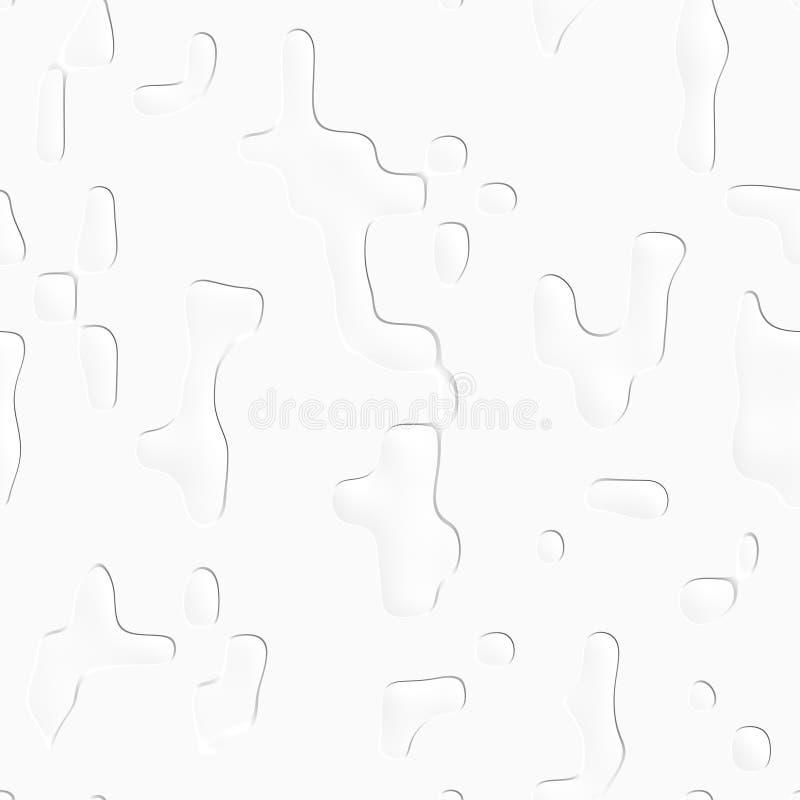 Abstrakt vit grungetextur seamless modell royaltyfri bild