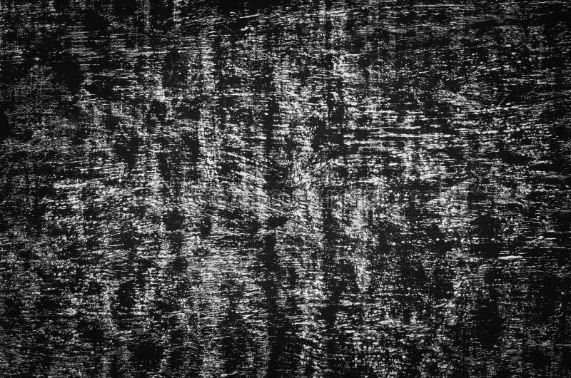 Abstrakt vit krita på svart tavlabakgrund arkivbilder