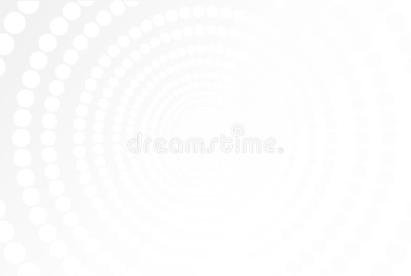 Abstrakt vit- och gr? f?rglutningbakgrund ocks? vektor f?r coreldrawillustration arkivfoton