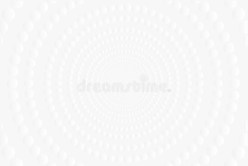 Abstrakt vit- och gr? f?rglutningbakgrund ocks? vektor f?r coreldrawillustration royaltyfria bilder