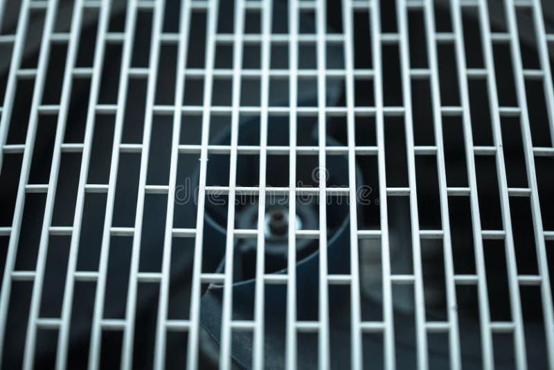 Abstrakt vitt ingrepp Texturerad modell med sexhörniga celler som industriell bakgrund royaltyfri fotografi