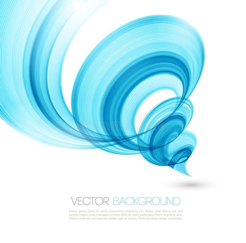 Abstrakt vridninglinje bakgrund Mallbroschyr vektor illustrationer