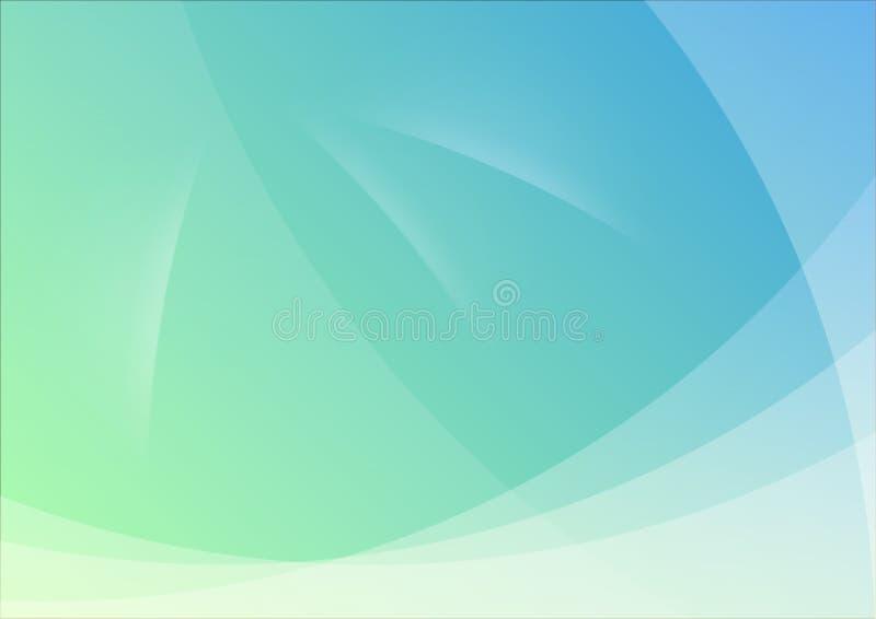 abstrakt wallpaper för blå green för bakgrund stock illustrationer