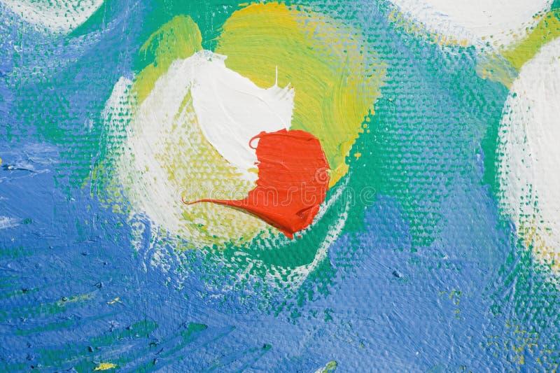 abstrakt waterlilly zdjęcie royalty free