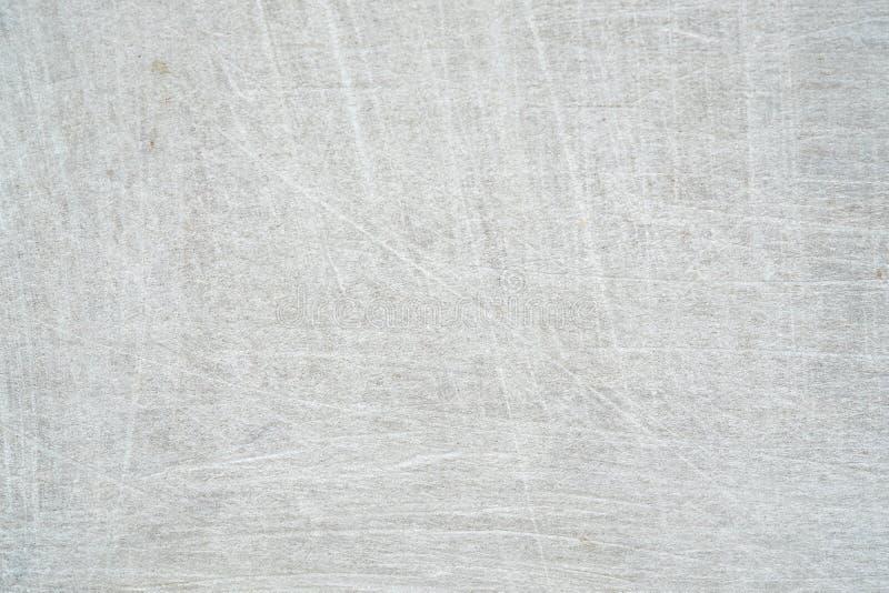 Abstrakt wietrzał naturalną porysowaną starą białą plastikową teksturę s obraz stock
