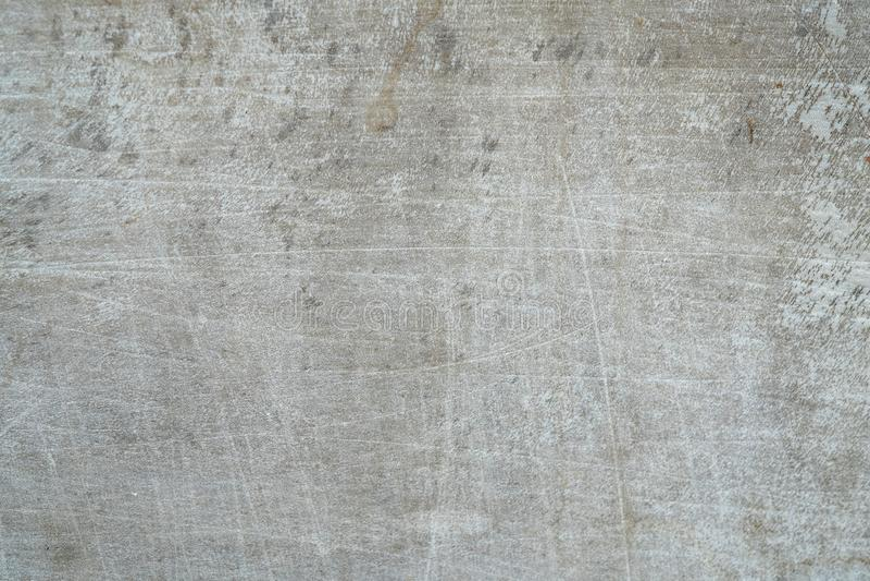 Abstrakt wietrzał naturalną porysowaną starą białą plastikową teksturę s obrazy stock