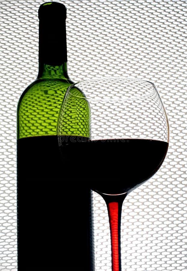 Abstrakt Winebakgrundsdesign Royaltyfria Foton
