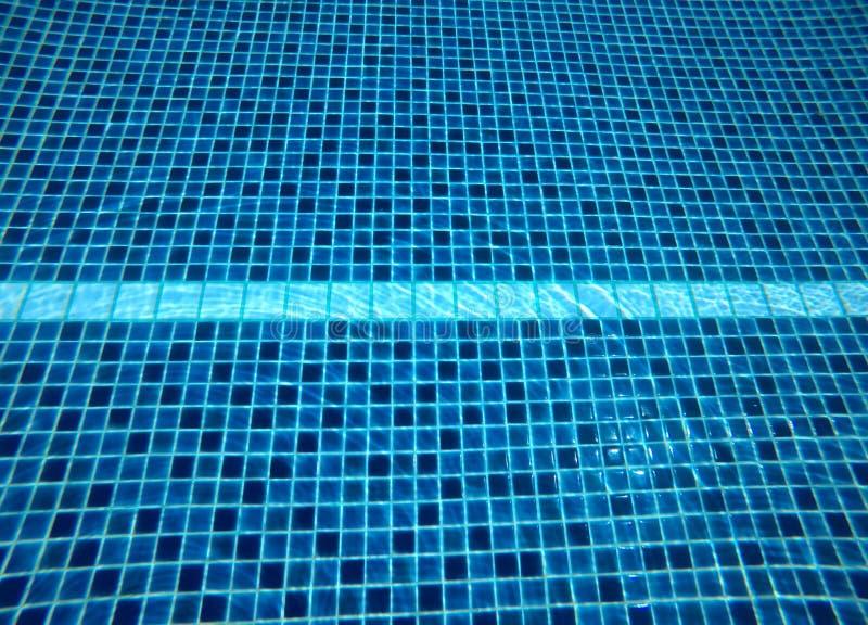 Abstrakt woda zamazywał wizerunki, tekstury i style baseny obrazy stock