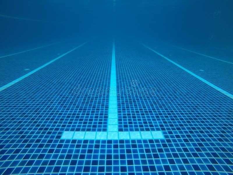 Abstrakt woda zamazywał wizerunki, tekstury i style baseny które współzawodniczą w 2020 Olympics przy Tokio, Japonia zdjęcie royalty free