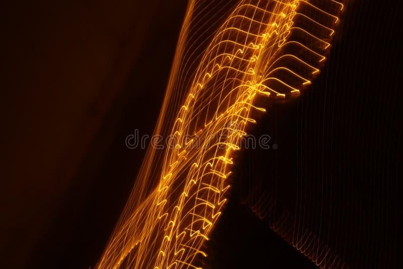 Abstrakt wolna żaluzja zaświeca zbliżenie fotografia stock