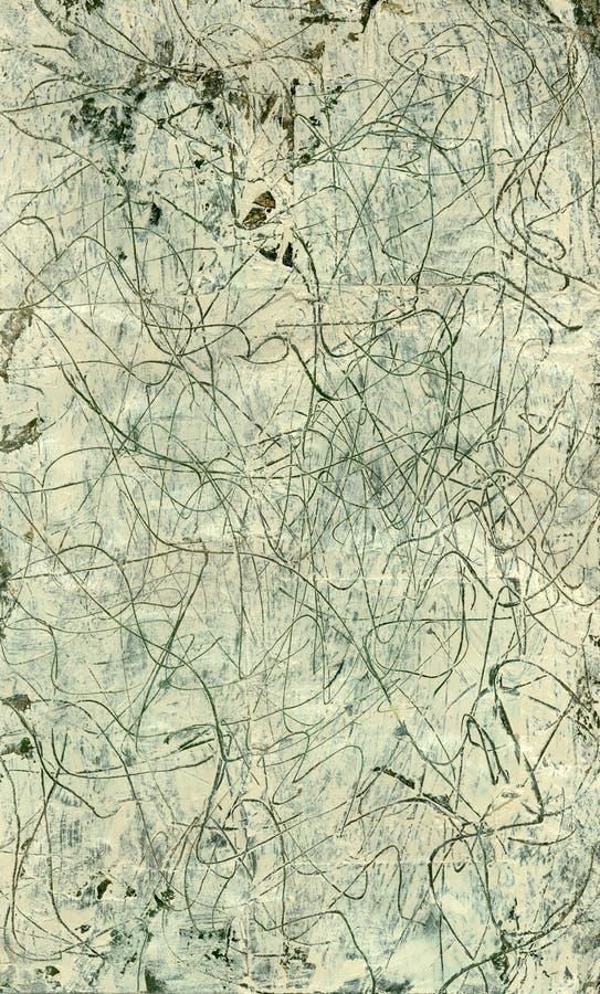 abstrakt wykłada squiggley royalty ilustracja