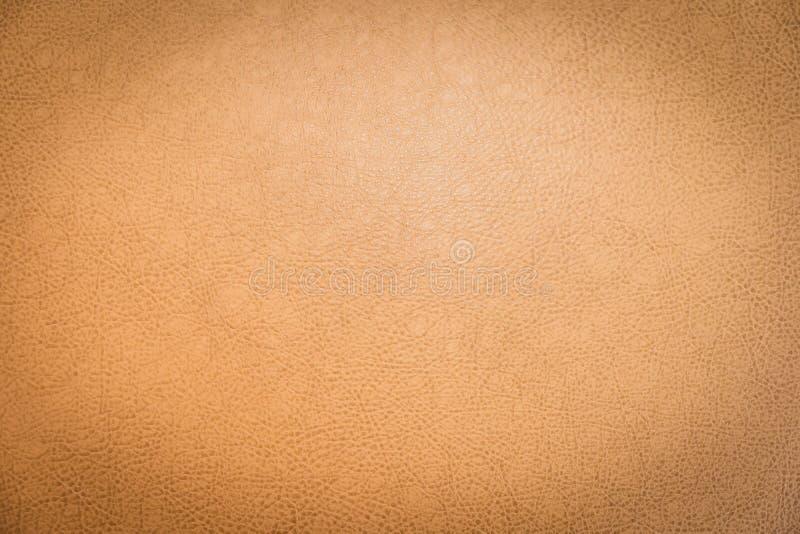 Abstrakt yttersida och textur av brunt läder arkivbild