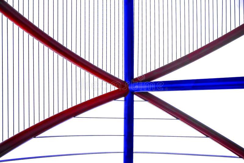 Abstrakt z nowy nowożytny architektonicznym obrazy stock