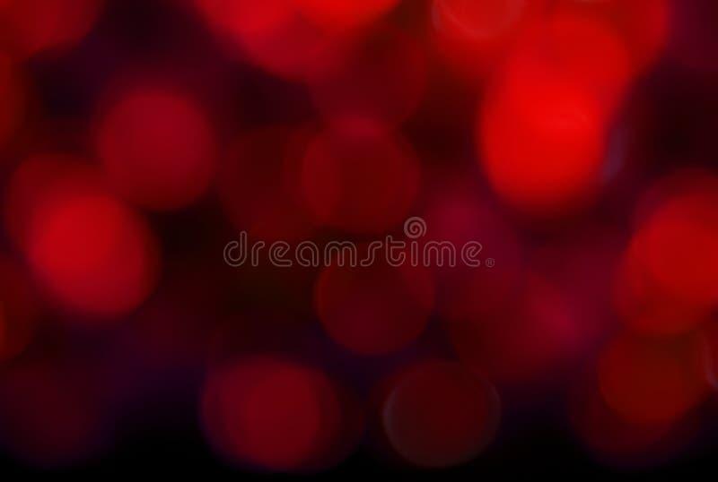 abstrakt zaświeca czerwień