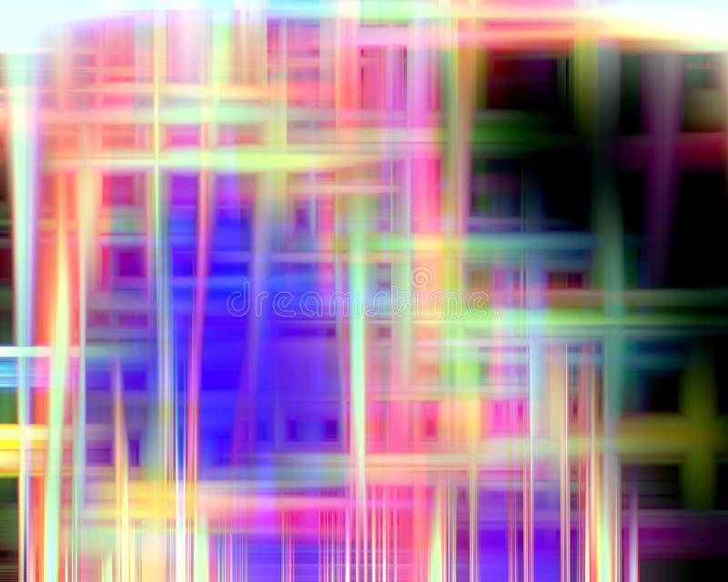 Abstrakt zaświeca kolorowych kształty, grafika, geometrie, tło i teksturę, ilustracja wektor