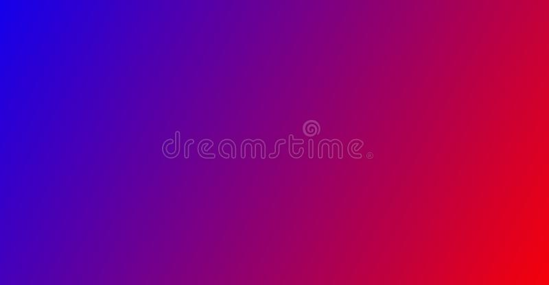 Abstrakt zamazujący błękitny, różowy i czerwony gradient plakatowym sztandaru tła pojęciem obrazy royalty free