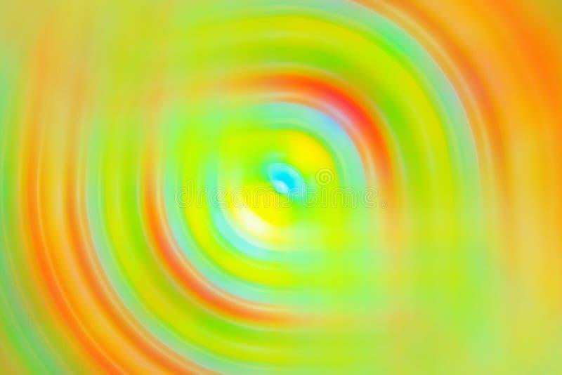 Abstrakt zamazywał stubarwny zawijas przetykającego piksel rozciągliwości tła widma kolorów koloru żółtego neonowego żywego tło N obrazy stock