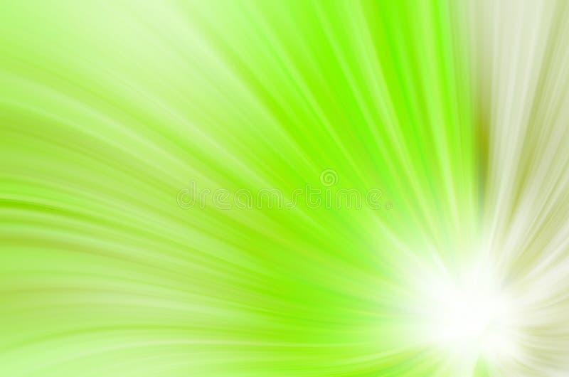 Abstrakt zieleń wygina się tło zdjęcie stock