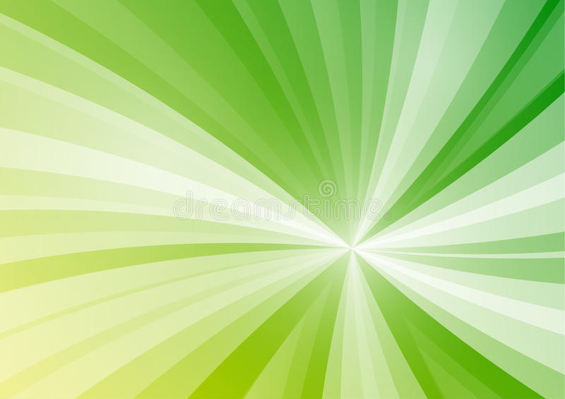 Abstrakt zieleni gwiazda wykłada tło royalty ilustracja