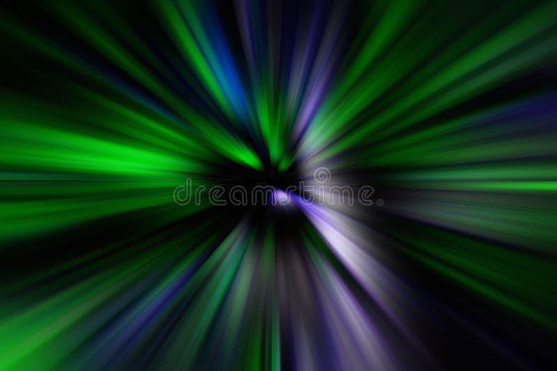Abstrakt zoomsuddighetseffekt för bakgrund royaltyfria foton
