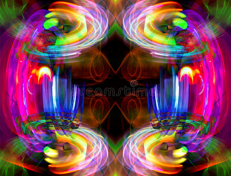 Abstrakta światła wzór ilustracji