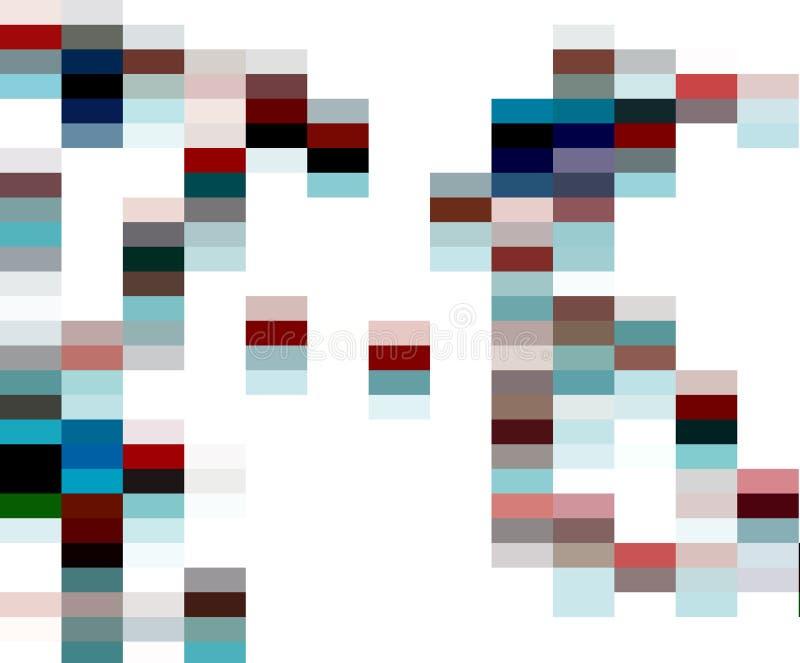Abstrakta światło obciosuje grafika, geometrie, tło i teksturę, ilustracji