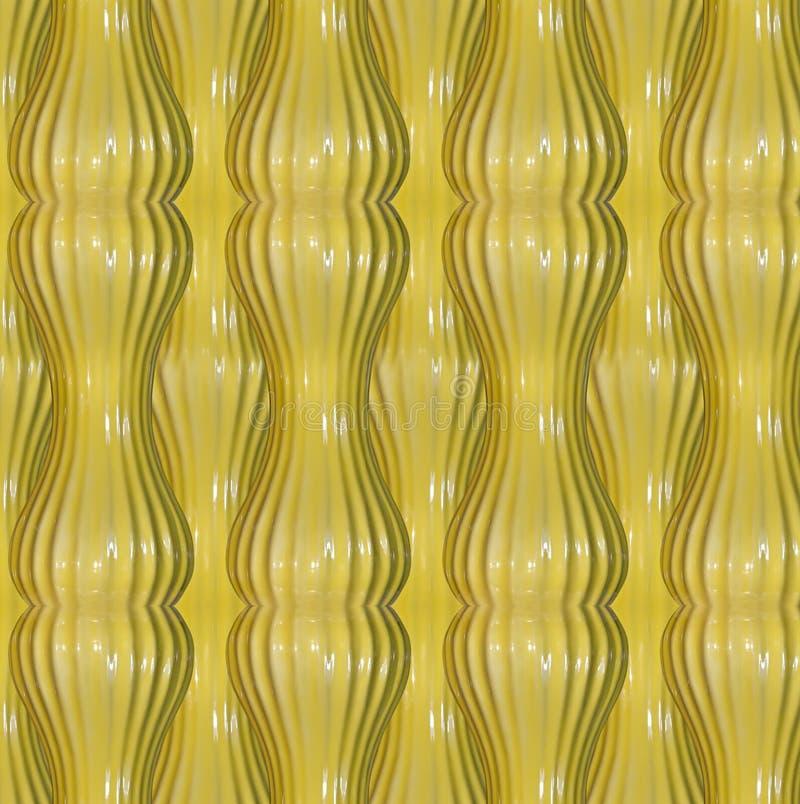 abstrakta żółty wzoru zdjęcie stock