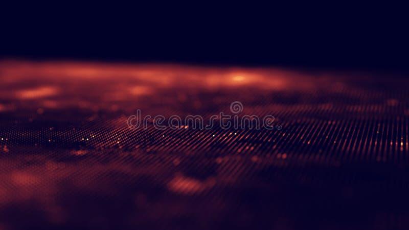 Abstrakta bakgrundsblått för musik Utjämnaren för musik som visar solida vågor med musik, vinkar, musikbakgrundsutjämnaren royaltyfri foto