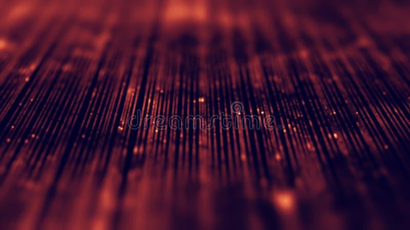 Abstrakta bakgrundsblått för musik Utjämnaren för musik som visar solida vågor med musik, vinkar, musikbakgrundsutjämnaren royaltyfri bild