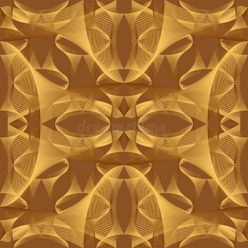 abstrakta bezszwowy wzoru royalty ilustracja